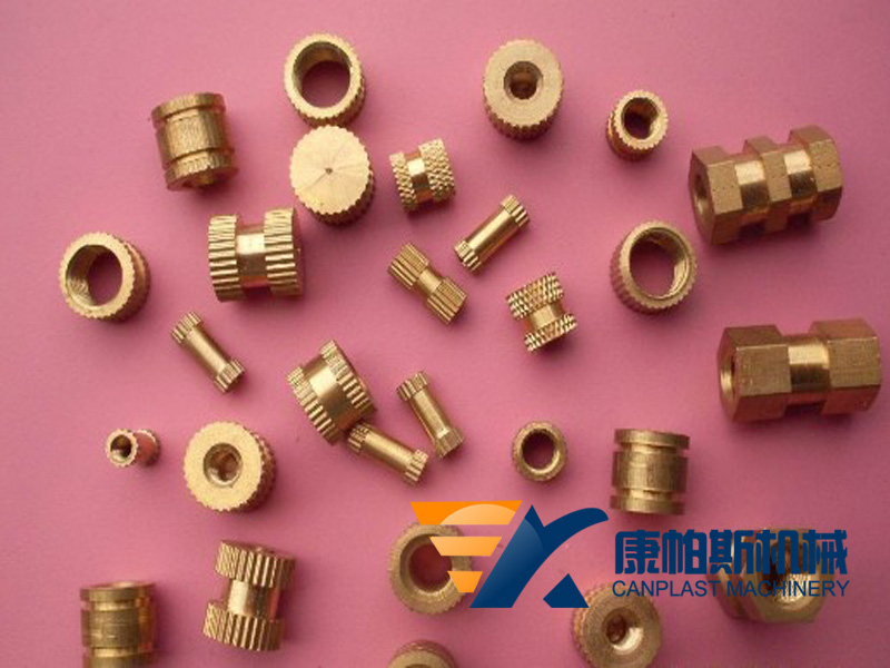 Brass inlay for pipe fittings