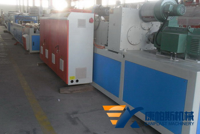 PVC window sill extrusion machine