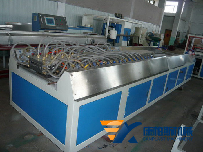 PE,PP wood profile extrusion line
